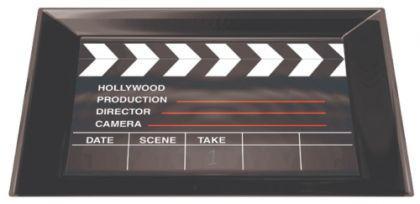 hollywood party tablett motto party deko geburtstag film party movie party kaufen bei. Black Bedroom Furniture Sets. Home Design Ideas