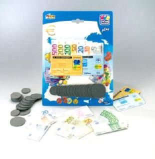 Kinder Kaufladen Spielgeld Euro Geld 88-tlg