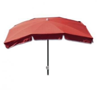 Len Schirm markisenschirm sonnenschirm schirm mit knickgelenk terracotta 210 x 140 cm kaufen bei