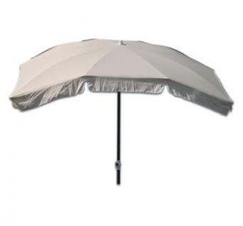 Len Schirm markisenschirm sonnenschirm schirm mit knickgelenk natur 210 x 140 cm kaufen bei schreibers