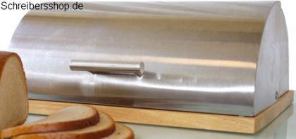 Brotkasten von Homestyle Edelstahl mattiert