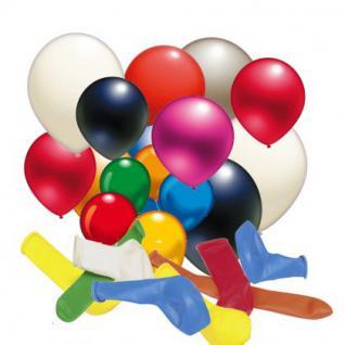 50 Stück LUFTBALLON verschiedene Farben und Größen bis 80 cm Umfang