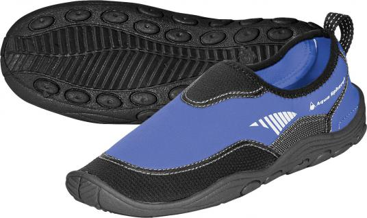 AquaLung Beachwalker RS blau/schwarz Gr. 37-48 Badeschuhe Wasserschuhe