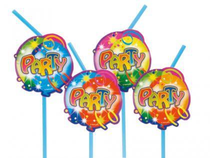 10 Becher, BallonParty, Kindergeburtstag, Deko, Luftballon, Luftschlangen