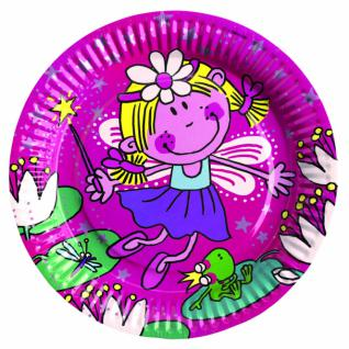 Funky Fairy 8 Teller Kindergeburtstag Girls-Party Motto Deko Geburtstag