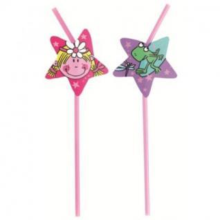 Funky Fairy 8 Trinkhalme Kindergeburtstag Girls-Party Motto Deko Geburtstag