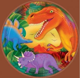 Artikel jetzt bei eBay einstellen 8 Teller Dinosaurier Dinos, Kindergeburtstag Party Geburtstag