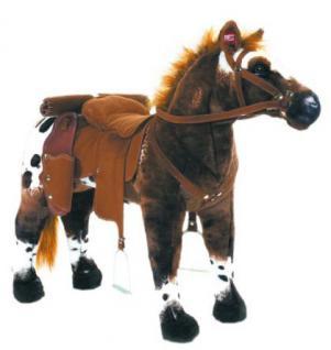 """Plüschpferd Reitpferd Cowboypferd """"Anglo-Araber"""" mit Sound"""