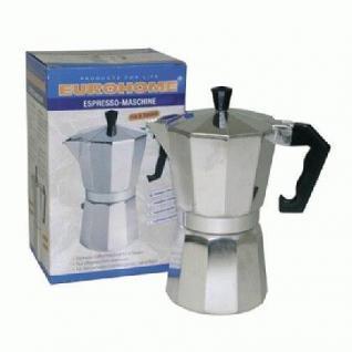 Espresso Kaffeemaschine für 6 Tassen
