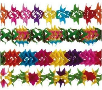 5 girlanden regenbogen karneval geburtstag party for Regenbogen dekoration