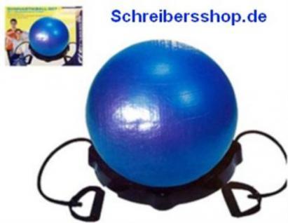 Gymnastikball Set mit Expander