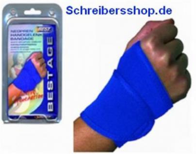 NEOPREN Handgelenkbandage Sportbandage one Size