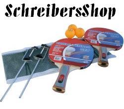 Tischtennisschläger Tischtennis Set + Netz