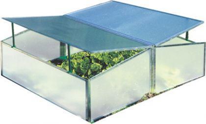 Frühbeetkasten Gewächshaus 98, 5 x 116, 0 x 38, 5 cm - Vorschau 2