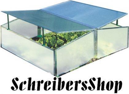 Frühbeetkasten Gewächshaus 98, 5 x 116, 0 x 38, 5 cm - Vorschau 1