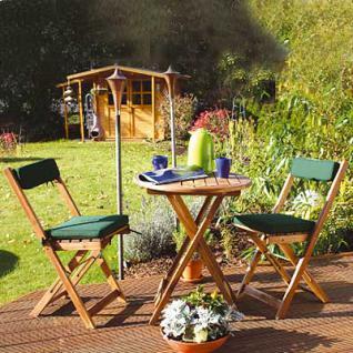 Sitzgruppe Holz, Balkonset, geöltes Akazienholz