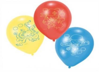 6 Luftballons Piraten Party, Kindergeburtstag, Motto Kleine Piraten