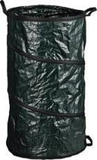 Gartenabfallsack in grün 82x48cm