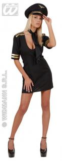 PILOTIN Kostüm Gr. S 34 / 36 Dreamgirl Fasching Hostess Stewardess