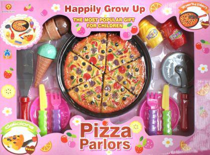 19-tlg Pizza Set für die Kinderküche Kaufladen NEU