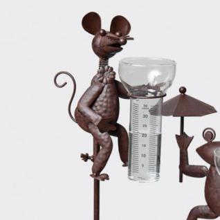 """Gartenstecker """"Regenmesser"""", Maus, H: 115, 0 cm"""