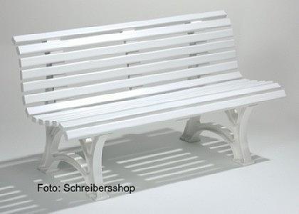 kunststoff gartenbank helgoland 3 sitzig wei kaufen bei schreibers shop inh helmut schreiber. Black Bedroom Furniture Sets. Home Design Ideas