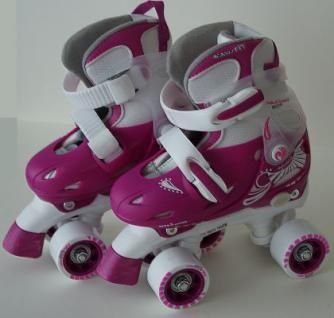 Kinder Rollschuhe Skater Größe verstellbar 30-31-32-33 (PWZ)