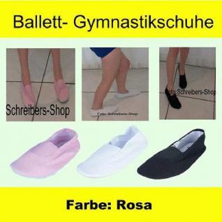 Ballettschuhe Gymnastikschuhe Turnschuhe rosa