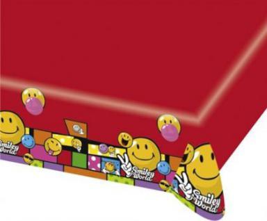 Tischdecke SMILEY COMIC - Kinder Party, Kindergeburtstag, Deko