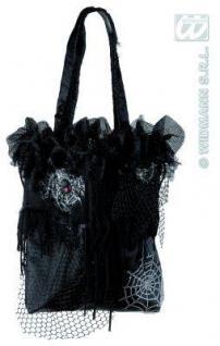 Halloween Hexen Handtasche Bettelbeutel Fasching Kostüm Party