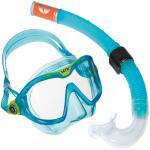 Aqualung Combo Mix / Reef DX - AQUA - hochwertiges Kinder Masken Schnorchel Set