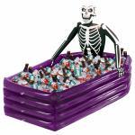 Halloween Dekoration Getränkekühler Grusel Skelett Deko Gothic Deko