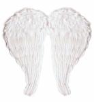 Flügel mit modellierbaren Federn 51 x 46 cm weiß Engelsflügel