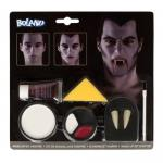 Schminkset Vampir Schminke Halloween Fasching Make-up Vampirzähne