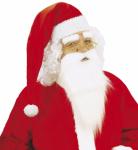 Bart Weihnachtsmann Santa Claus mit Schnurrbart