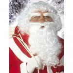 Qualitätsperücke Santa Claus Weihnachtsmann mit Bart und Augenbrauen