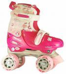 Kinder Rollschuhe Skater Größe verstellbar 30-31-32-33 (FRW)