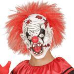 Böser Horror Clown Maske