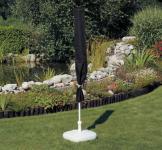 Schutzhülle Anthrazit Hülle Abdeckung für Sonnenschirm 200 cm