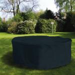 Schutzhülle Anthrazit Hülle Abdeckung für Sitzgruppen 200 cm