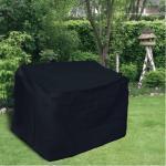Schutzhülle Anthrazit Hülle Abdeckung für Gartenbänke 130 x 80 cm