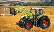 Claas Traktor Atles 936 RZ Licht, Sound und Fahrfunktion Frontloader