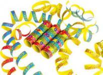 3 Luftschlangen, BallonParty, Kindergeburtstag, Deko, Luftballon, Luftschlangen