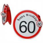 Geschenktüte Geburtstag Zahl 60
