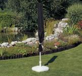 Schutzhülle Anthrazit Hülle Abdeckung für Sonnenschirm 450 cm