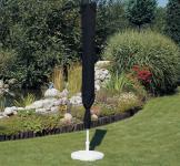 Schutzhülle Anthrazit Hülle Abdeckung für Sonnenschirm 400 cm