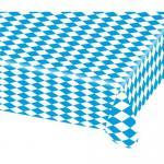 Tischdecke Biertisch Oktoberfest Bayern Party-Deko 80x260cm blau-weiss