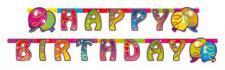 1 Partykette, BallonParty, Kindergeburtstag, Deko, Luftballon, Luftschlangen