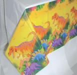 1 x Tischdecke Dinosaurier, Dinos, Kindergeburtstag, Party, Geburtstag