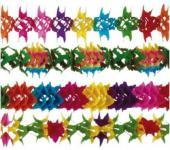 5 Girlanden, Regenbogen, Karneval, Geburtstag, Party, Dekoration, Garten, Kinde